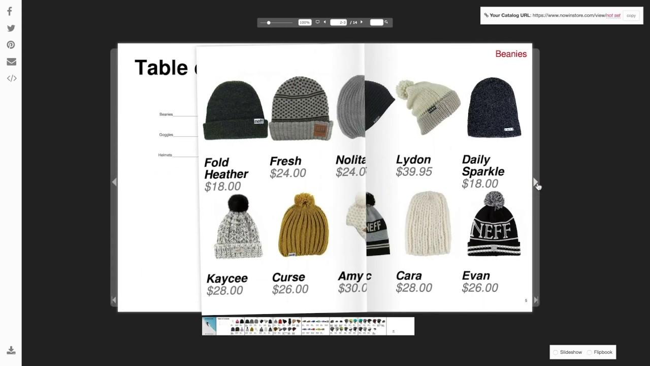Retail/Wholesale Catalog Maker