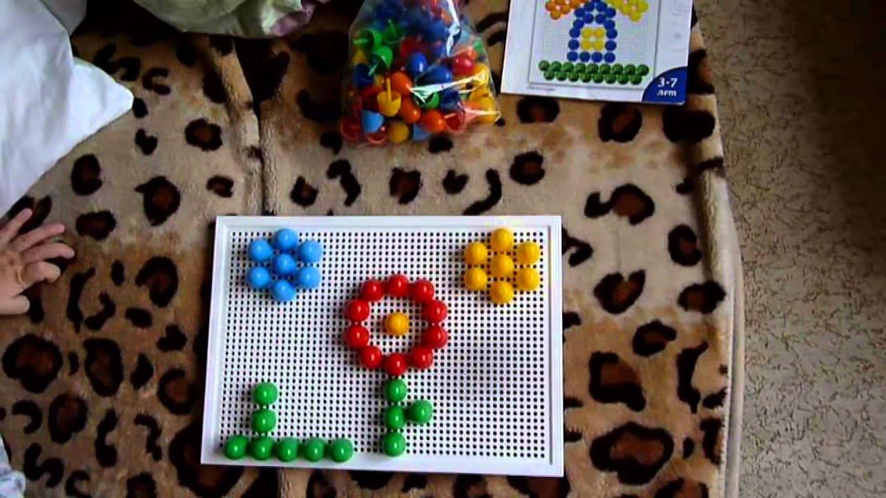 Наша мозаика. Отличная игра для малышей - YouTube