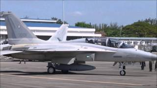 FA-50 Philippine Air Force Takeoff and Landing in Clark Airfield
