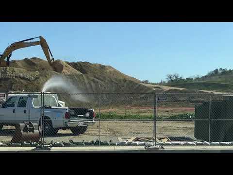Illegal Mt. SAC grading on stadium project alleged