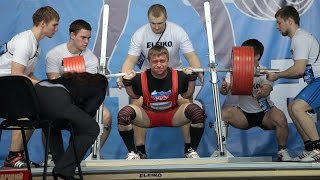 Russian Powerlifting Nationals - 2015. 83 kg. Leaders.