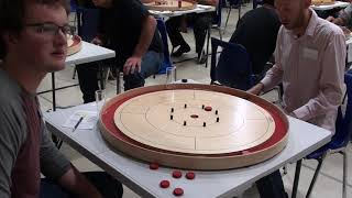 Crokinole 2019 Owen Sound Final 4 - Hutchinson v Reinman
