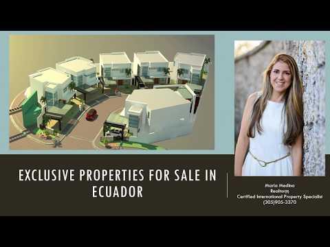 Luxury Properties for sale in Ecuador Maria Medina Real Estate