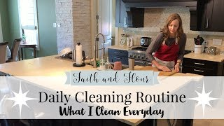 Daily Cleaning Routine 2018 | What I Clean Everyday | Cleaning Motivation