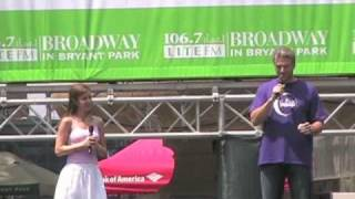 Video The Fantasticks at Broadway in Bryant Park 2010 - Try To Remember download MP3, 3GP, MP4, WEBM, AVI, FLV Desember 2017