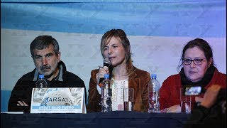 Realizaron charla con fuertes críticas al intento de privatización del Arsat
