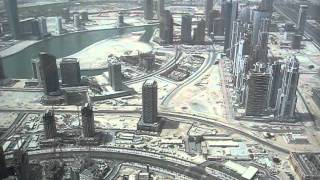 Dubai Ghost Town seen from Burj Al Khalifa