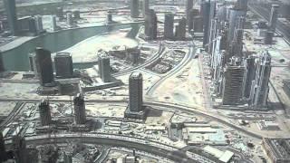 Dubai Ghost Town seen from Burj Al Khalifa