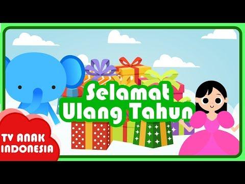 Karaoke Anak Ulang Tahun ❤️  Lagu Anak Indonesia ❤️  TV Anak Indonesia
