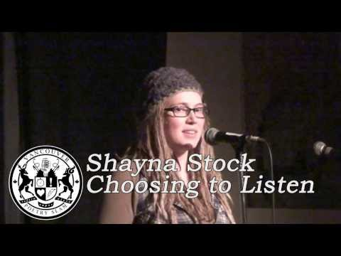 Shayna Stock - Choosing to Listen