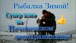 Рыбалка Зимой Супер клев на Печенежском водохранилище maximusрыбалка рыбалка2021
