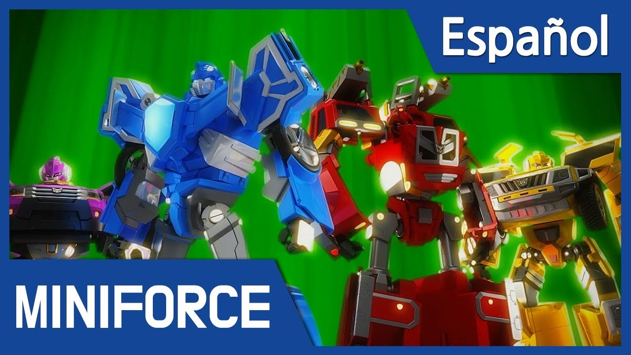 Español Latino Miniforce Capítulo 5 El Coraje De Las Tortugas