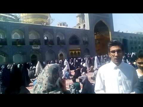 Holy shrine emam reza a.s Iran Mashhad city