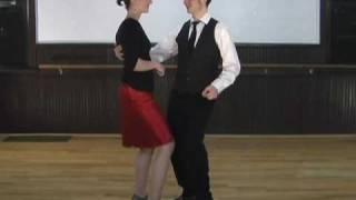 Blues dance instructional DVD for beginners