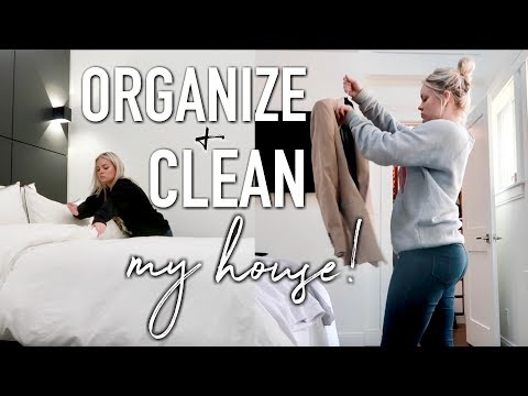 CLEAN & ORGANIZE MY HOUSE WITH ME! FALL 2019