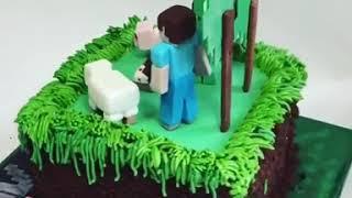 Крутой торт.  Minecraft
