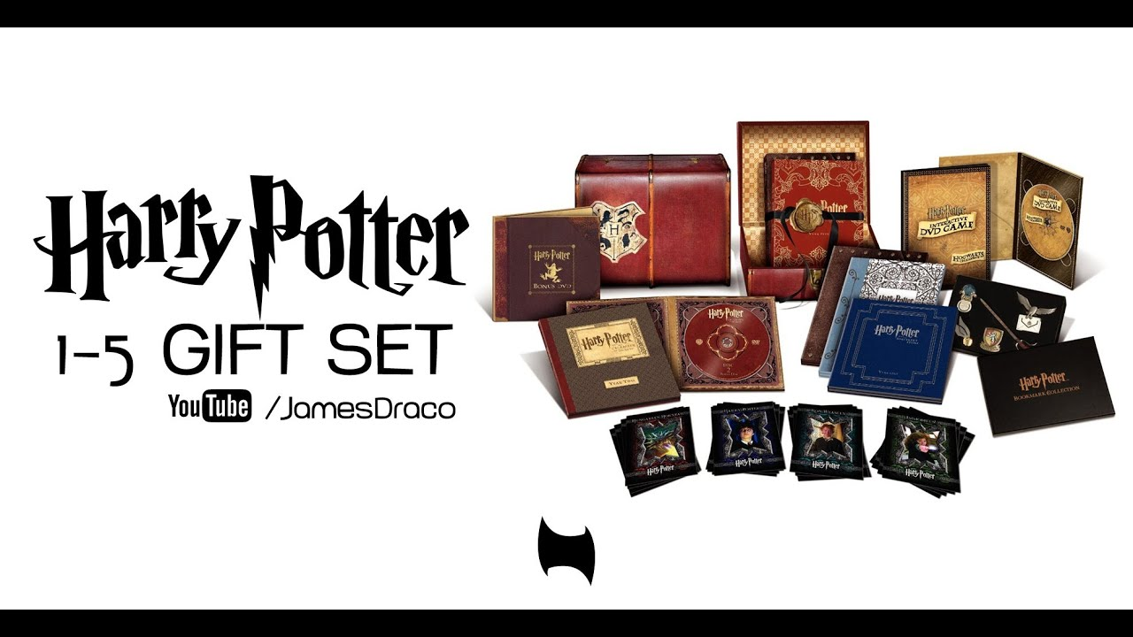 México: Harry Potter Limited Edition DVD - YouTube