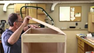 The Down to Earth Woodworker - Quick Kitchen Cabinet Part 2