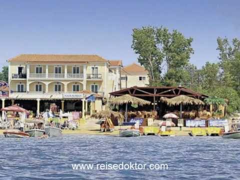 Zakynthos Griechenland 3 Hotel California Direkt Am Strand Youtube