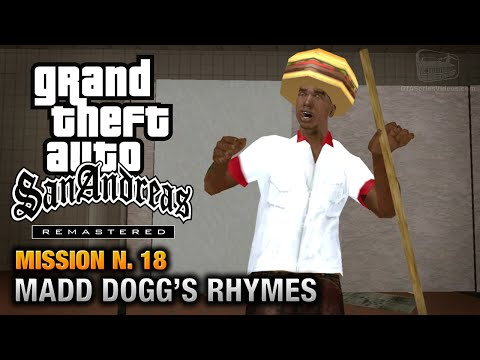 GTA San Andreas Remastered - Mission #18 - Madd Dogg's Rhymes (Xbox 360 / PS3)