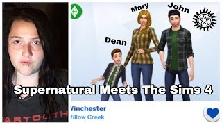 Supernatural Meets The Sims 4 | Piercetheovaries (Part 1)