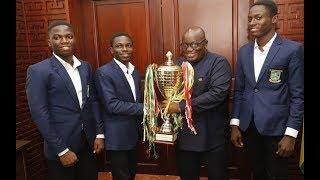 2018 NSMQ winners call on Akufo-Addo