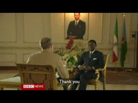 Hard talk with obiang