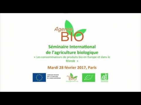 Séminaire International de l'agriculture biologique  - 9h30