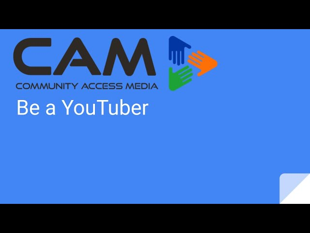 Be a YouTuber Webinar