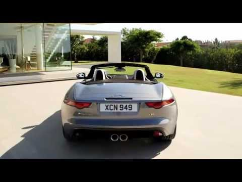 Jaguar F-Type S static and driving scenes (natural sound)