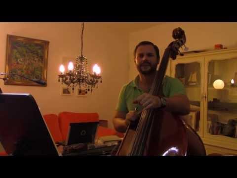 Bruckner: Symphony 4, double bass  excerpt, 1st movement, Felix F. J. Maiwald