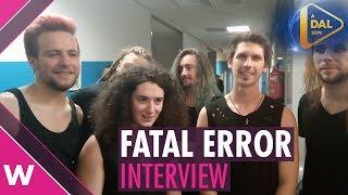 """Fatal Error – """"Kulcs"""" (INTERVIEW) @ A Dal 2019 