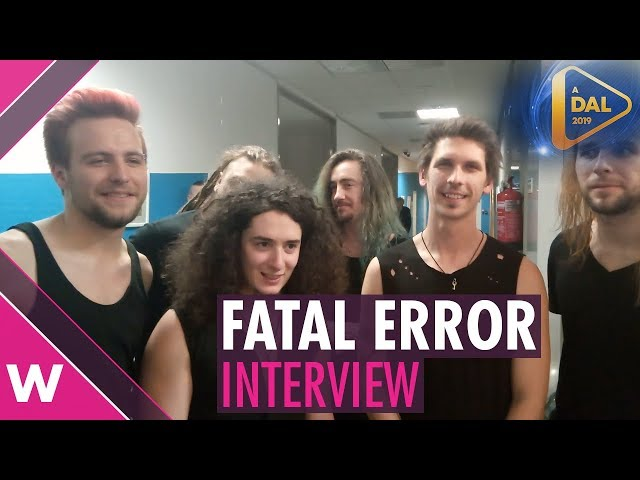 """Fatal Error – """"Kulcs"""" (INTERVIEW) @ A Dal 2019   wiwibloggs"""