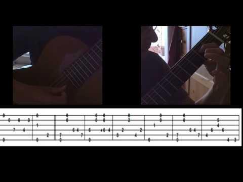 Amazing Grace -  Fingerstyle Guitar   (+ Tablature \ Tab)