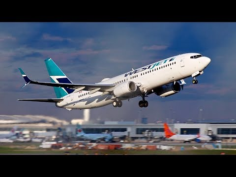 Afternoon Departures From Toronto Pearson | American, WestJet, Air Canada