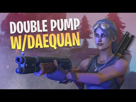 GOODBYE DOUBLE PUMP! with TSM Daequan - Fortnite Battle Royale