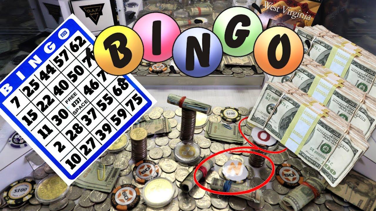 HIGH RISK BINGO.. In The Coin Pusher! $500
