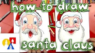 How To Draw Santa Claus