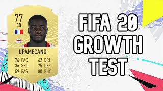Dayot Upamecano Dynamic Potential Test!! FIFA 20