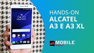 Alcatel A3: o básico para selfies [Hands-on MWC 2017]