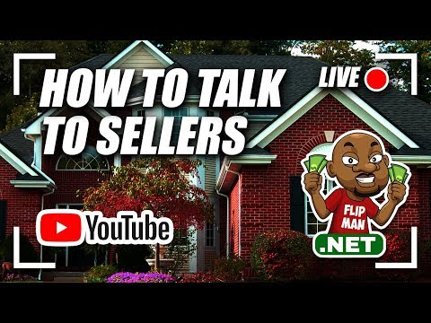 🔴 Live Now - Flip Man - How To Talk To Sellers To Wholesale a House  #flipman