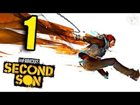 НАЧАЛО ИГРЫ - У МЕНЯ ЕСТЬ СИЛА! (inFAMOUS: Second Son) #1