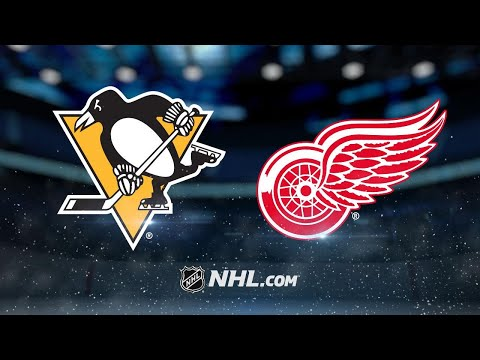 Nyquist scores 100th NHL goal to help Wings past Pens