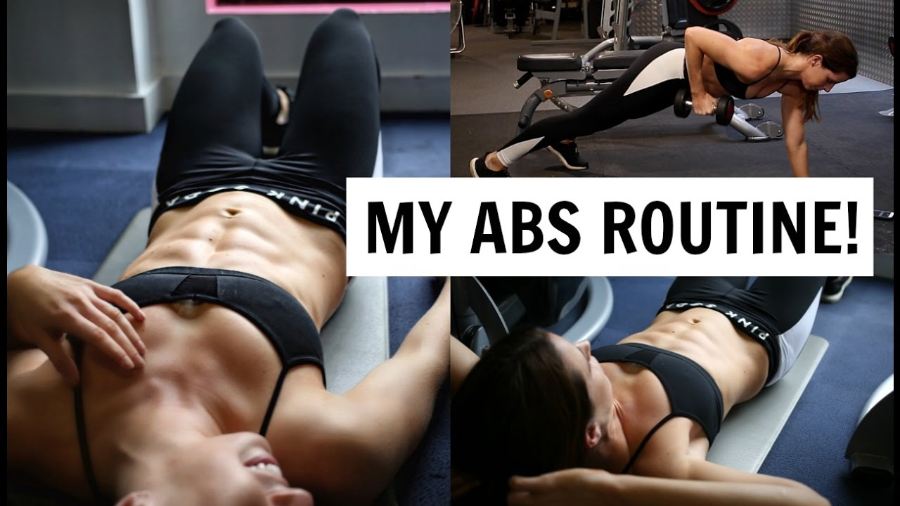 6 -PACK WORKOUT  Created by Carly Rowena
