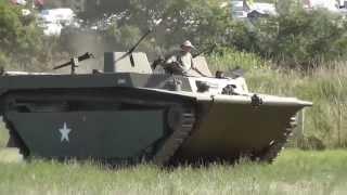 LVT-4 Water Buffalo at War & Peace Revival 2014