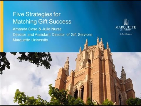5 Strategies for Growing Matching Gifts