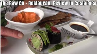 Raw Co Juicery & Food - Raw Vegan Restaurant Review in Costa Rica