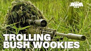 ARMA 3 RHS KOTH: Trolling Snipers & Bush Wookies