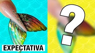 IMITANDO UNHAS DO INSTAGRAM | QUE DIFÍCIL!