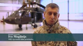 """Ar lidmašīnu """"Galaxy"""" no ASV Latvijā nogādā helikopterus """"Black Hawk"""""""